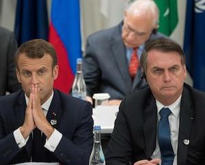 Emmanuel Macron et Jair Bolsonaro