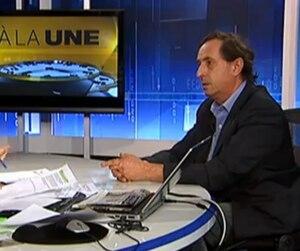 Cyrille Béraud de passage à Argent