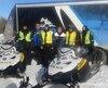 Les clubs de motoneigistes de la région du Saguenay-Lac-Saint-Jean ont bien rempli leur mandat la semaine dernière alors que les officiels de la Fédération ont parcouru leurs sentiers dans le cadre de la caravane de sécurité.