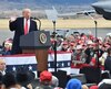 Trump addresses rally in Montana in final push for votes before next week's midterm polls