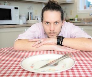 Le Français Gary Gay-Perret, photograpié hier, a entamé une grève de la faim.
