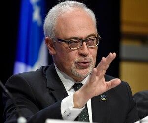 Le ministre des Finances Carlos Leitao