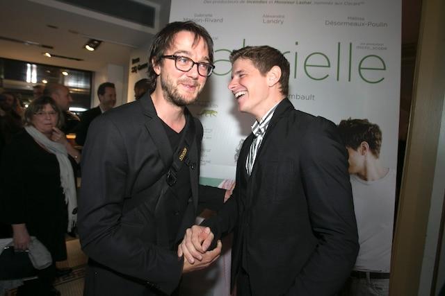 Les acteurs Vincent Guillaume Otis et Alexandre Landry.