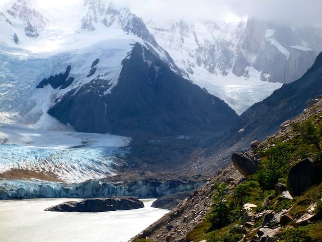 Une vallée au parc national Los Glaciares.