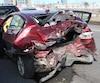 Deux collisions impliquant cinq véhicules ont causé une importante congestion sur le pont Pierre-Laporte en direction nord en début d'après-midi.