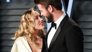 Image principale de l'article Miley Cyrus sort une chanson à propos de Liam