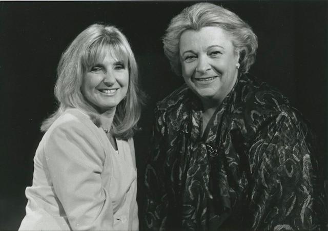 Dominique Michel et Lise Payette.
