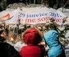 Plusieurs citoyens ont pris part à une grande commémoration pour souligner le triste anniversaire de la tuerie à la Mosquée de Québec, le 29 janvier 2018.