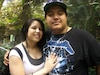 Ricky Garcia Miranda a été retrouvé 16 heures après l'accident. On l'aperçoit avec sa copine Julie Hernandez, mère de sa fille.