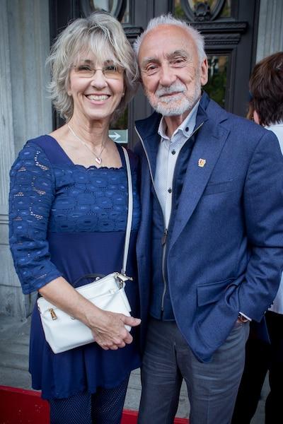 Judy Richards et Yvon Deschamps.