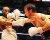 En décembre 2007, David Whittom (à droite) avait livré un combat endiablé face au futur champion Adonis Stevenson.