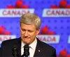 La démission de Stephen Harper à la direction du parti a été annoncée non pas par le principal intéressé, mais dans un bref communiqué envoyé par le président du parti.