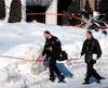 Les enquêteurs de la police de Laval avaient passé la maison au peigne fin.