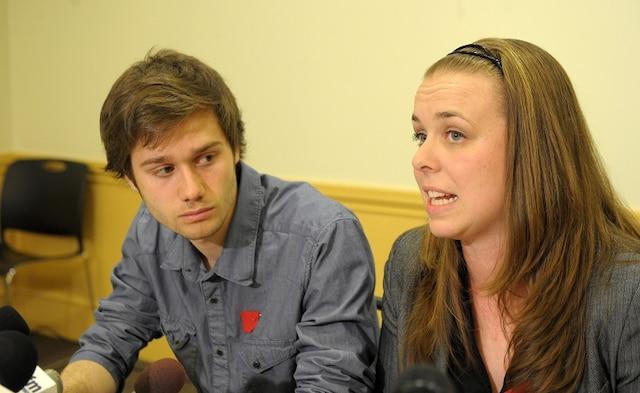 1 mai 2012: Conférence de presse de la  FEUQ et de la FECQ qui déposent de nouvelles offres au gouvernement pour mettre fin au conflit étudiant.