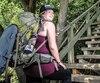 Élise Charbonneau s'entraîne dans l'escalier du Cap-Blanc deux fois par semaine en vue de son excursion qui aura lieu en Suède.