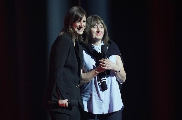 Anne-Élisabeth Bossé et sa mère