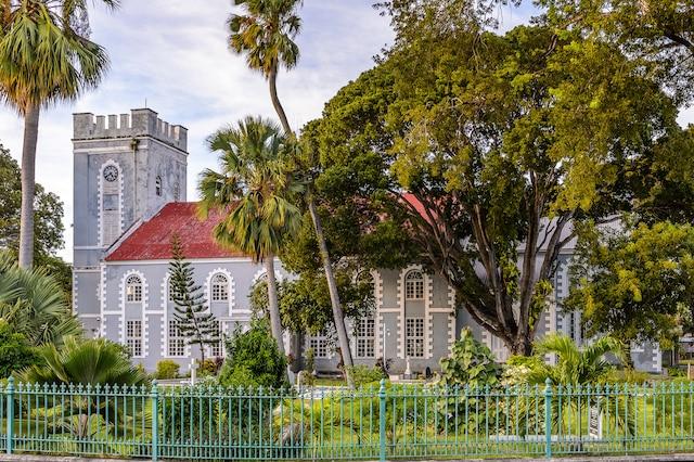 L'hôtel de ville de Bridgetown, la capitale de la Barbade.