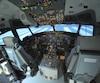 Simulateur, boeing 737 de la compagnie CAE.