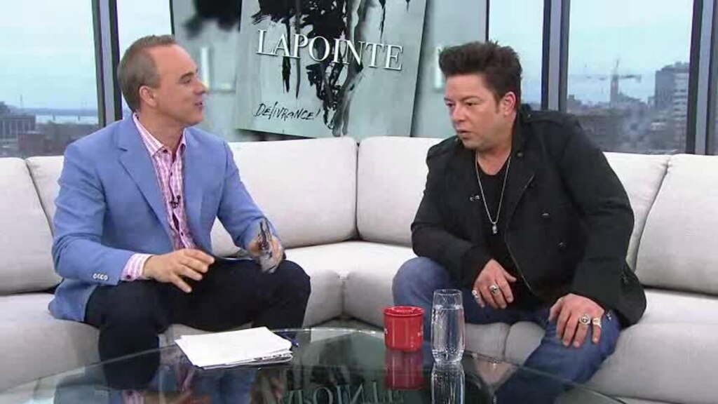 Éric Lapointe en entrevue