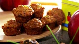 Muffins salés au maïs et bacon