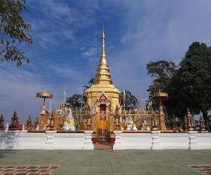 Temple in Mae Sai, Thailand