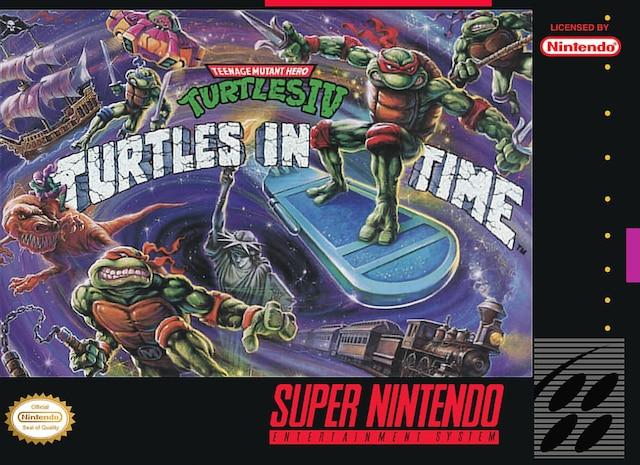 C'est l'ultime scrolling beat 'em up, c'est le jeux qui donnait l'impression d'avoir une arcade à la maison (sans payer une fortune en 25 sous). En plus, qui ne trippait pas sur les Ninja turtles à cette époque? Et oui, moi j'étais Michelangelo. Cowabunga!