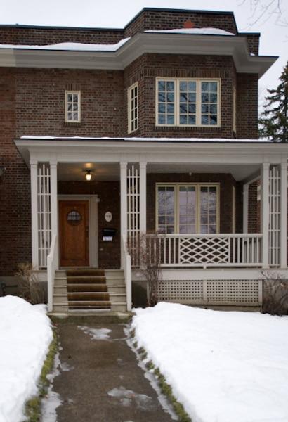 7. La maison d'enfance de Leonard Cohen, située rue Belmont, à Westmount. Elle avait été mise en vente en 2010 pour près de 1,4M$.