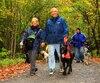 Les randonneurs avec chien sont invités à l'événement Les Pattes de l'espoir, à Mirabel, le 25 septembre.