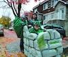 Halloween Emilie Laliberté fauteuil roulant