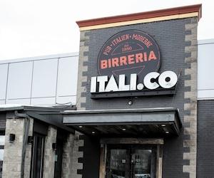 La Brasserie ITALI.CO du boulevard de la Côte-Vertu a écopé de 3550$ d'amendes.