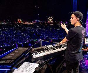 Kygo en spectacle au festival Coachella en Californie