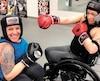 Jani Barré (à gauche) et Tamara Bélisle s'entraînent deux fois par semaine au Centre multisports Charles-Auguste-Gauvin de Saint-Hyacinthe.