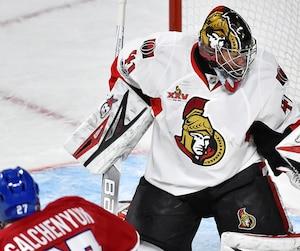 Revenant d'une blessure, Craig Anderson a perdu de son lustre face au Canadien.