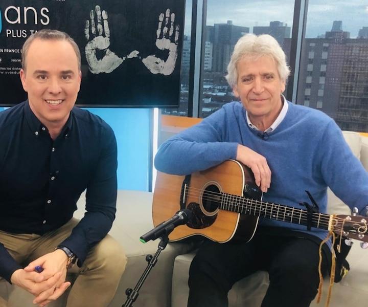 «40 ans plus tard»: Yves Duteil en tournée au Québec