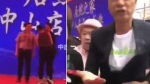 Un acteur de Hong Kong poignardé sur scène