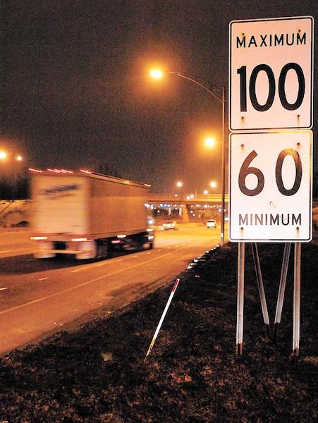Malgré son caractère improvisé, la suggestion du PQ de hausser la limite de vitesse est fort pertinente.