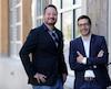 Artisan Studios, dont le siège social est à Québec, c'est la rencontre entreun Américain, Mario Rizzo (à gauche), et un Français, Julien Bourgeois, qui se sont lancés à la quête du rêve américain en fondantleur propre boîte de production de jeux vidéo.