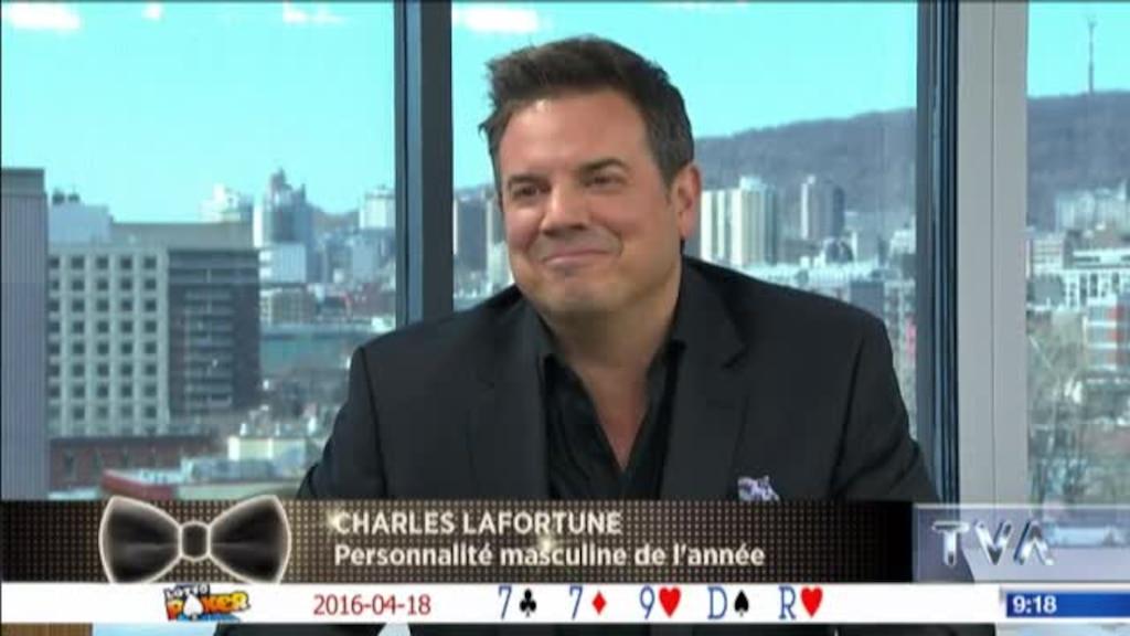 Charles Lafortune surpris par sa famille!