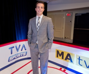 Mikaël Lalancette de TVA Sports