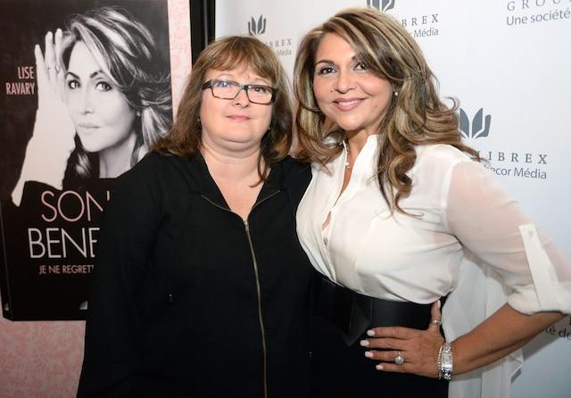 Sonia Benezra (à droite)