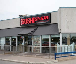 Resto insalubre de la semaine - Restaurant Sushi St-Jean