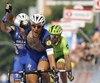 Matteo Trentin a remporté la 18e étape du Tour d'Italie, jeudi.