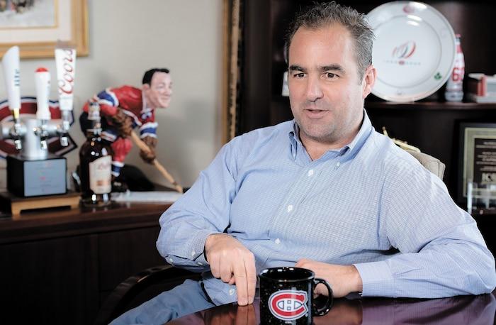 Geoff Molson ne semble avoir aucune exigence pour ses hommes de hockey.
