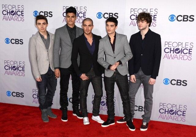 Le boys band The Wanted a été sacré révélation de l'année des People's Choice Awards.