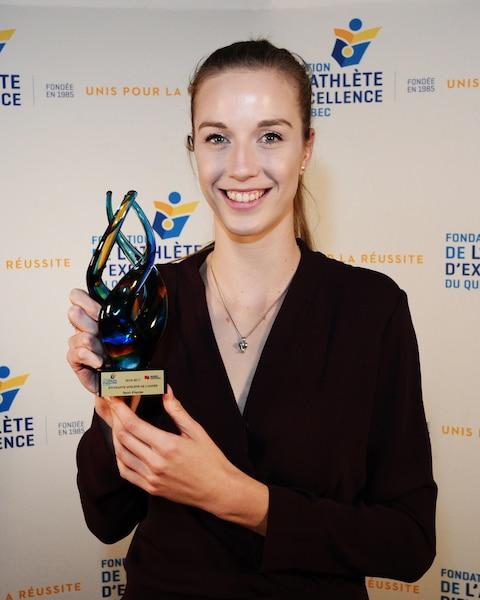 Athlète de l'année sport d'équipe Volet féminin - Alex Kiss-Rusk - Basketball - Martlets de l'Université McGill