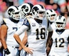 Le quart-arrière Jared Goff semble se chercher et l'offensive des Rams s'en ressent.