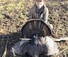 Chantale Isabel a tué son premier dindon sauvage cette année près de Victoriaville, un mâle de 24lb.