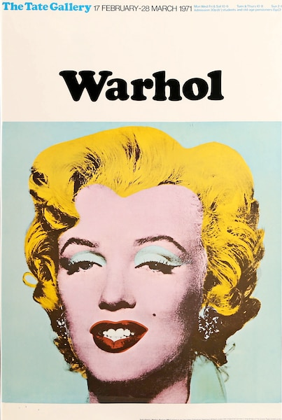 <i>The Tate Gallery London</i></br> Andy Warhol 1971</br> 30' X 20' ¼
