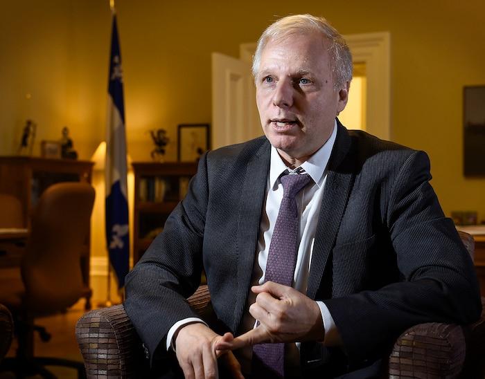 Jean-François Lisée envisage un programme chargé s'il est porté au pouvoir en 2018.