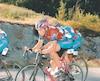 David Veilleux (no76) a livré une lutte acharnée à son coéquipier Éric Boily (no73) pour remporter le Tour en 2005.